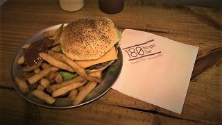 Classic Burger at 180 Burger Bar