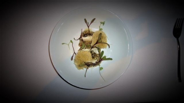 A course from Tasting Menu at Paraje Arevajo