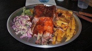 Bulls Buenos Aires BBQ Rib Plate