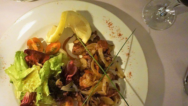 Ensalada Criolla at Club Social