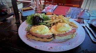 Club Social Buenos Aires Barracas Eggs Benedict