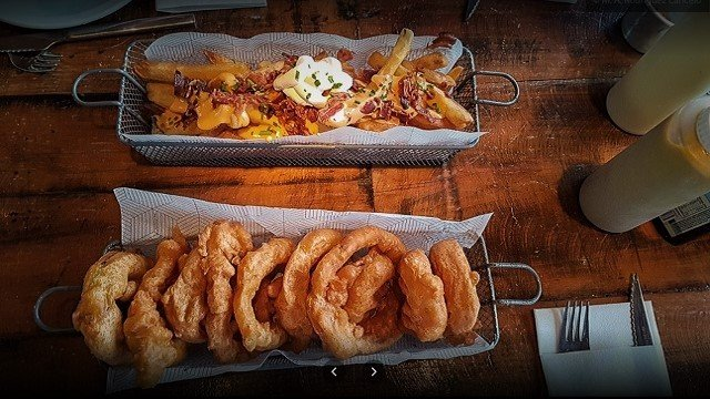 Rock-Ribs-Food-Cheese-Fries-and-Onion-Rings