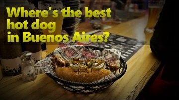 Best Hot Dog in Buenos Aires