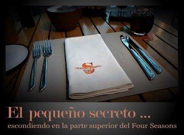 El pequeño secreto en el Hotel Four Seasons