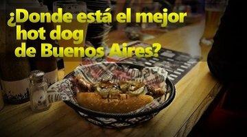 Donde está el mejor hot dog de Buenos Aires