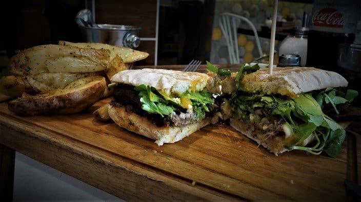Cerdo a la Plancha Sandwich at Crisol