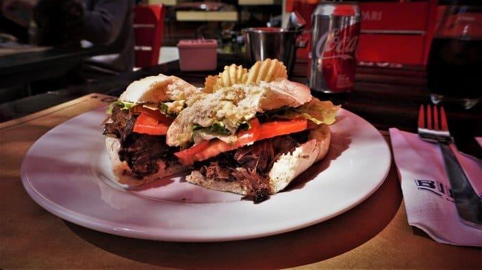 Lomo Asado Sandwich at Birkin