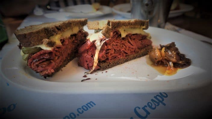 Pastrami Sandwich at La-Crespo