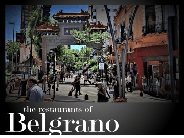 The best restaurants in Barrio Belgrano Buenos Aires