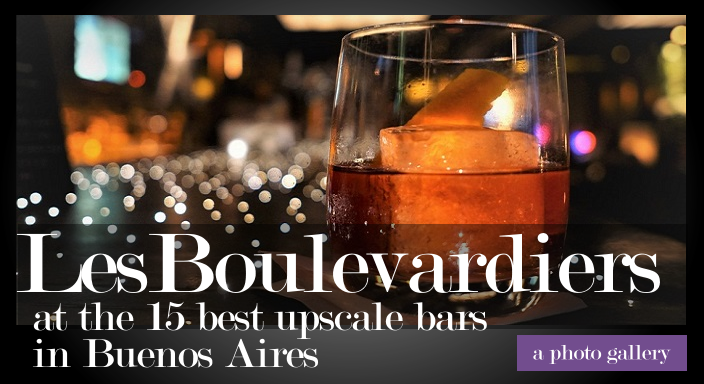 Les Boulevardiers at the 15 best bars in Buenos Aires