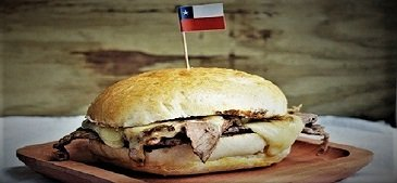 Barros Luco Sandwich Santiago Chile