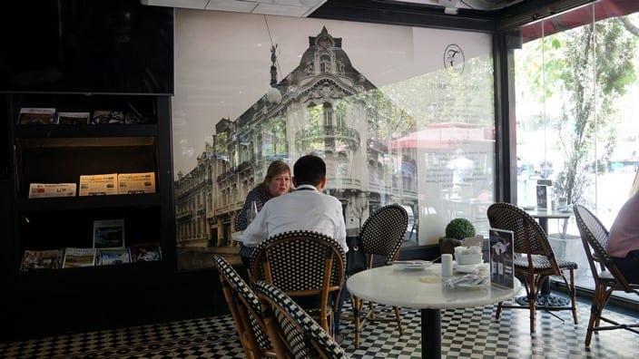 Confitería Torres, Santiago