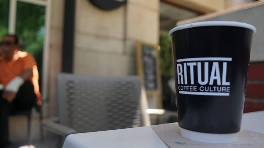 The morning ritual at Ritual Coffee