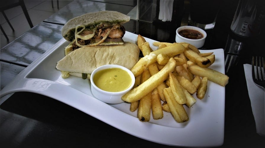 Lunch Special Sandwich at Tanta