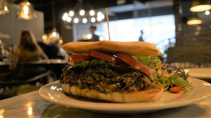 Plateada Sandwich at Margó