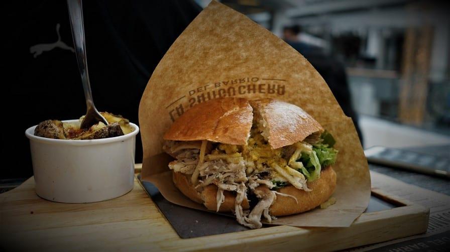 Pollo Amistoso Sandwich at La Sanguchera
