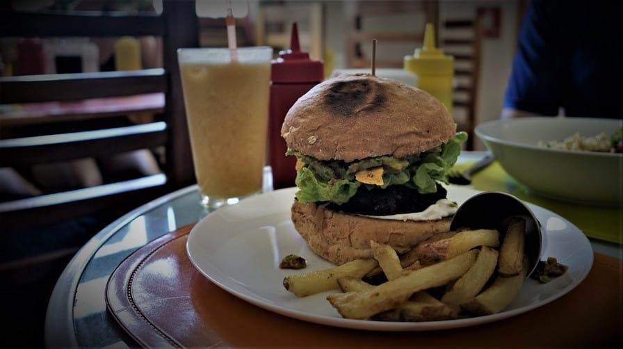 Vegan Bunker Santiago Food