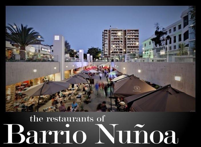 Restaurants in Nuñoa