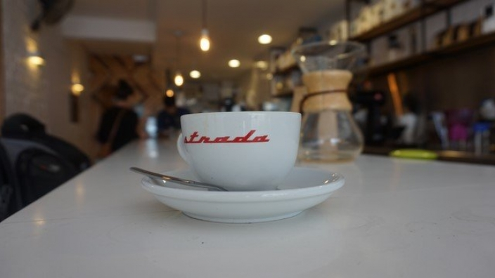 A cup of Black Gold at True Artisan Cafe - Lima Peru