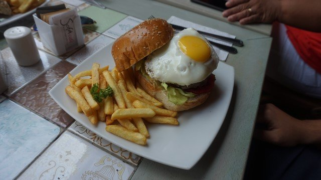 Egg Sandwich at Sofa Café