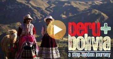 Peru and Bolivia Stop Motion