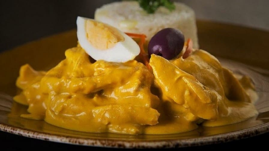Aji de Gallina at Tanta