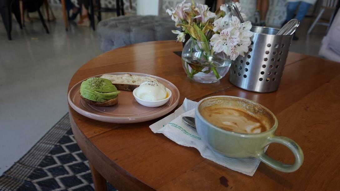 An Odd Coffee Cup at Ana Avellana
