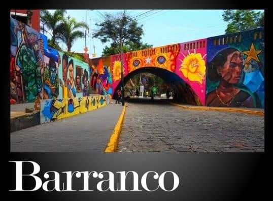 Restaurantes de Barranco Lima Peru