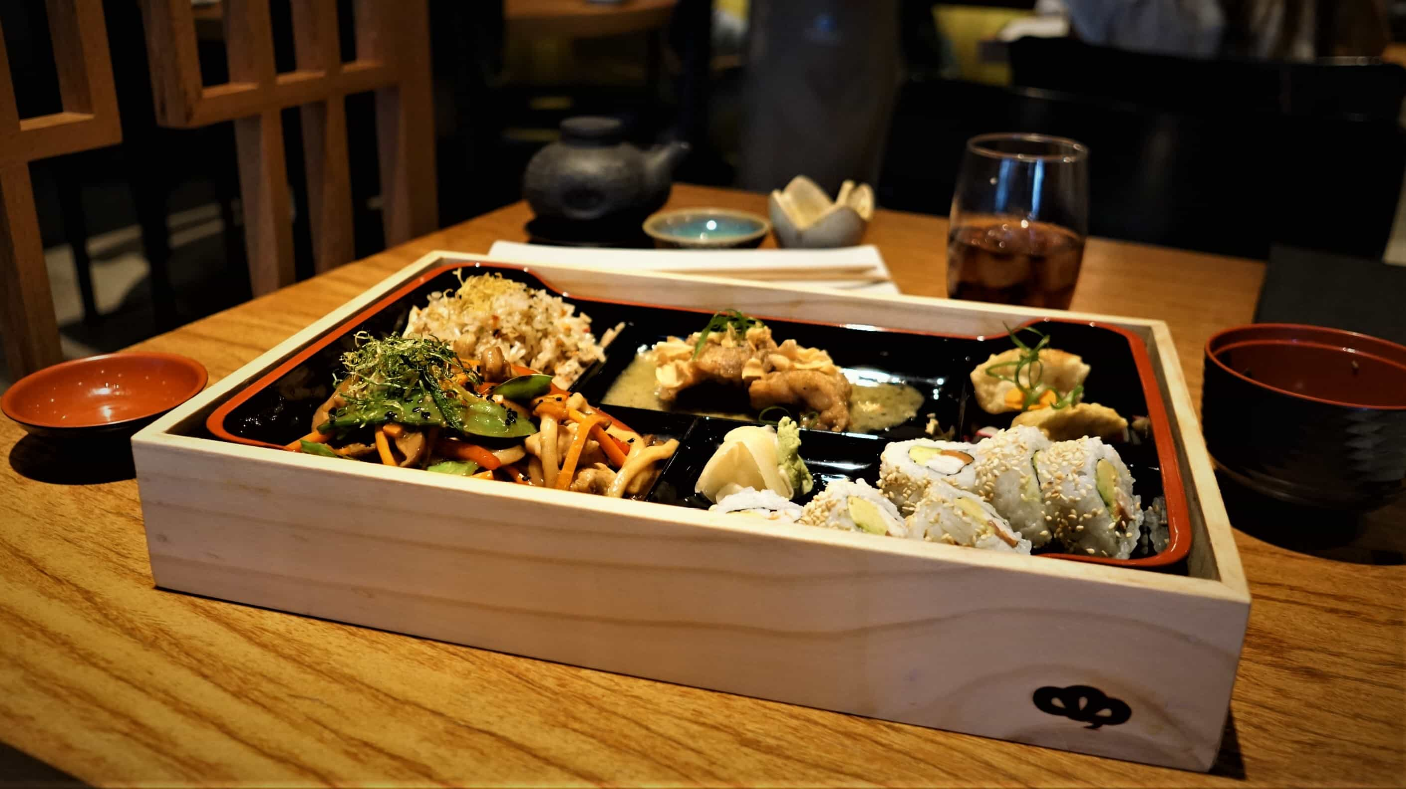 Bento Box at Matsuei