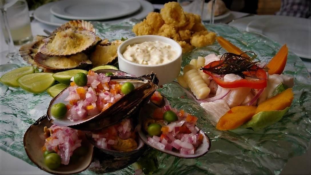 Carretillero (Seafood Sampler) at La Rosa Nautica
