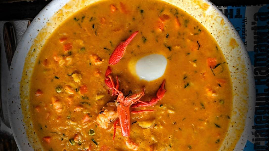 Crawfish Chupe (Bisque) at Popular