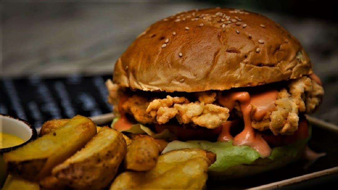 Loco Broaster Sandwich at Tanta