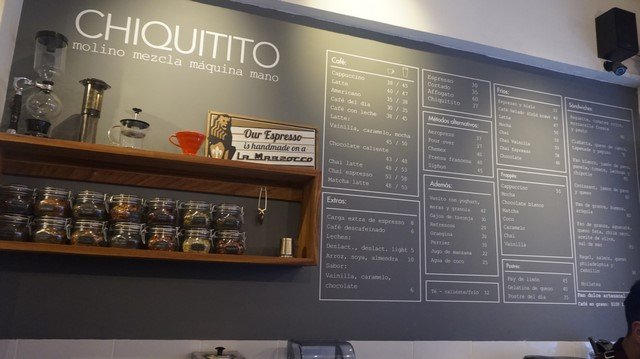 Chiquitito Cafe