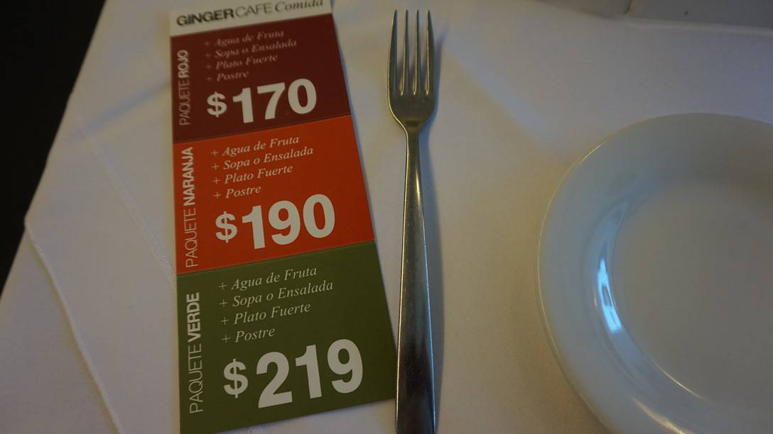Ginger Cafe Santa Fe Mexico City (1)