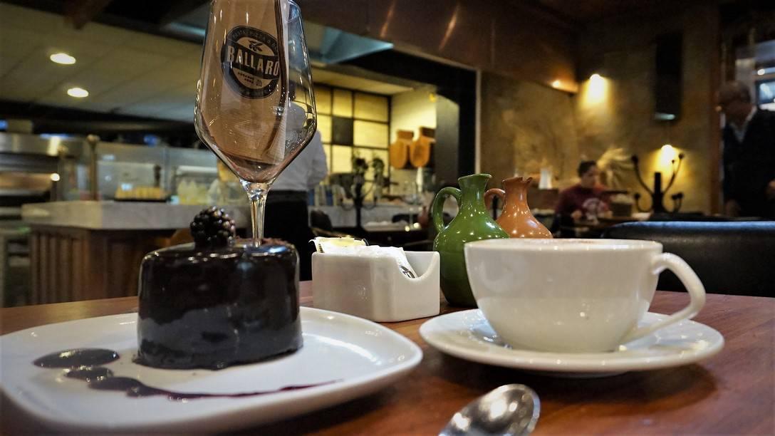 Ballaro Chocolate Tres Leches Cake with Coffee