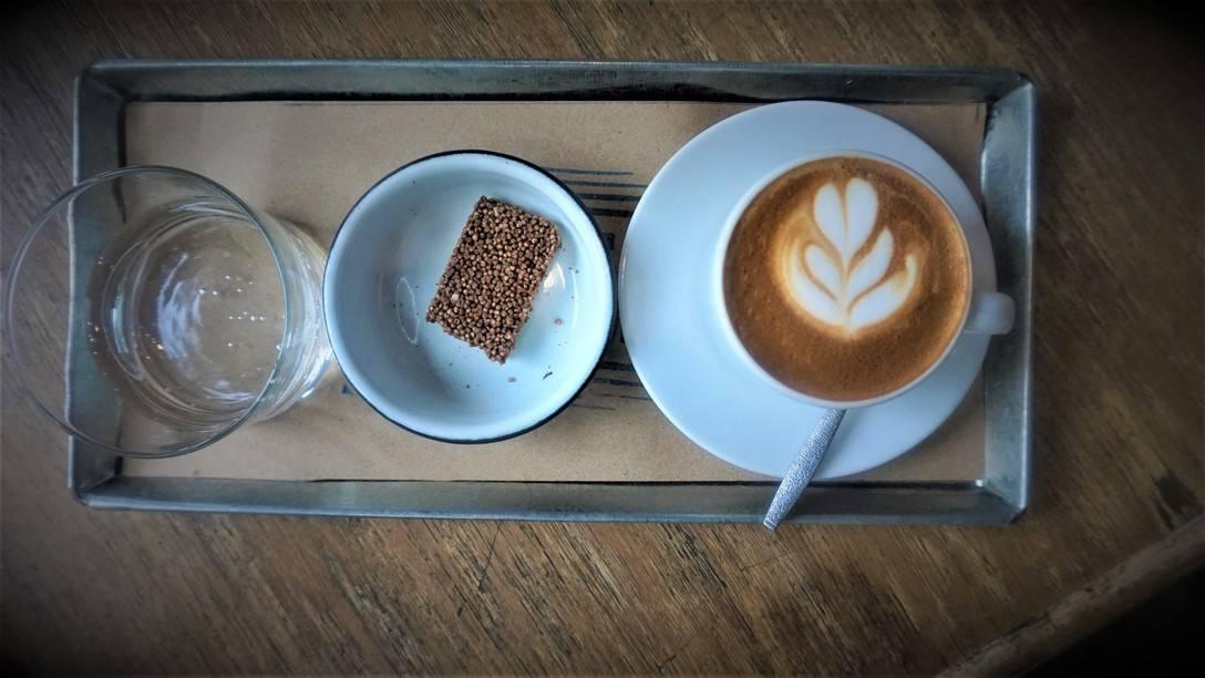 A Cappuccino at Centro Café