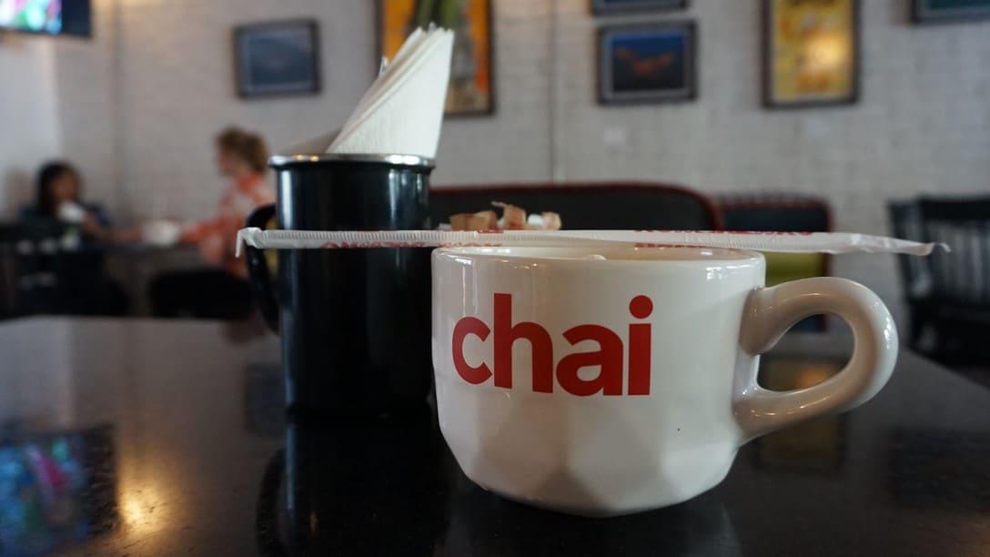 Chai - A big ole Coffee Cup