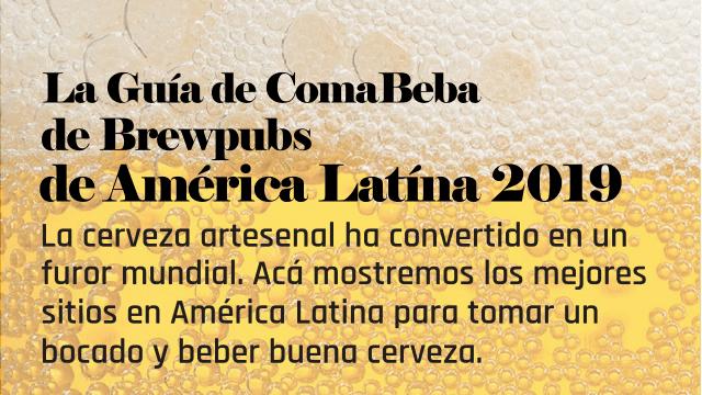 La guía de brewpubs de América Latina