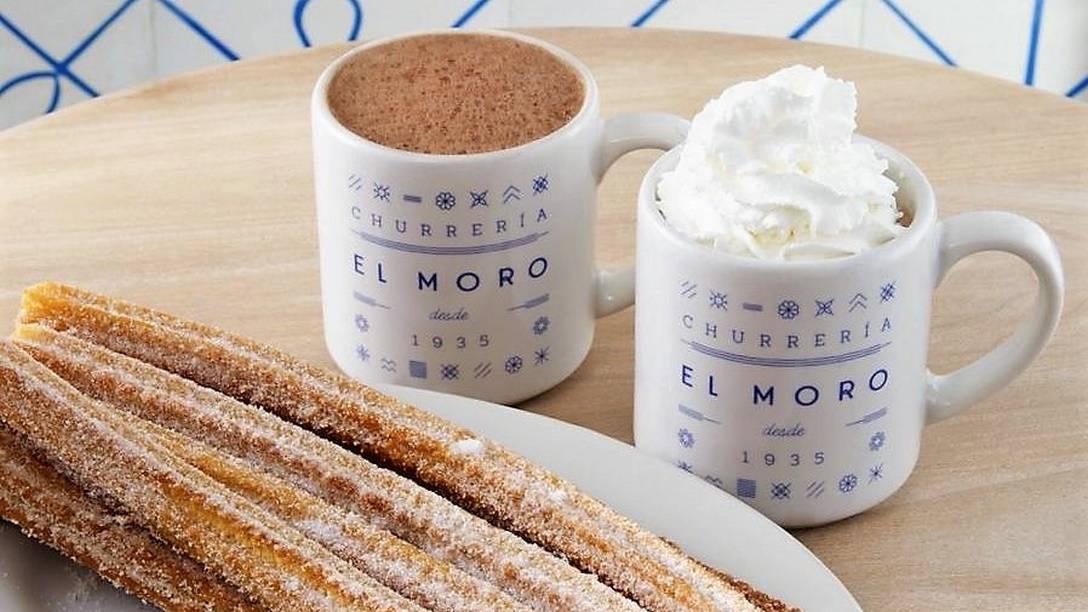 Churros and Hot Chocolate at El Moro