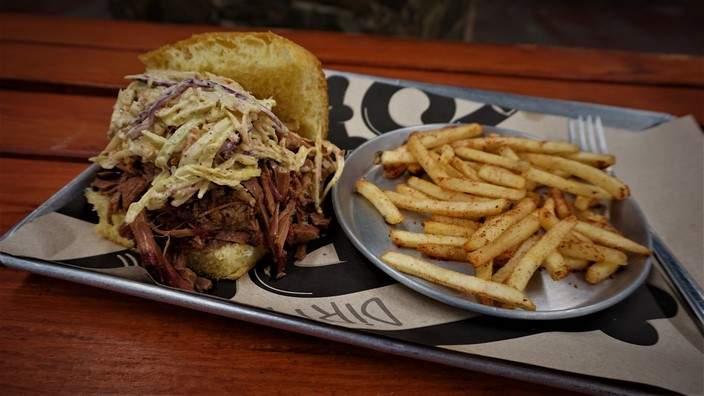 BBQ Brisket Sandwich at Fork Off