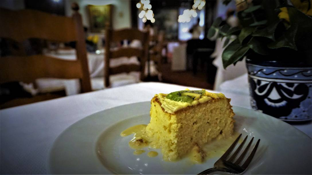 Pastel Tres Leches at Hacienda de los Morales