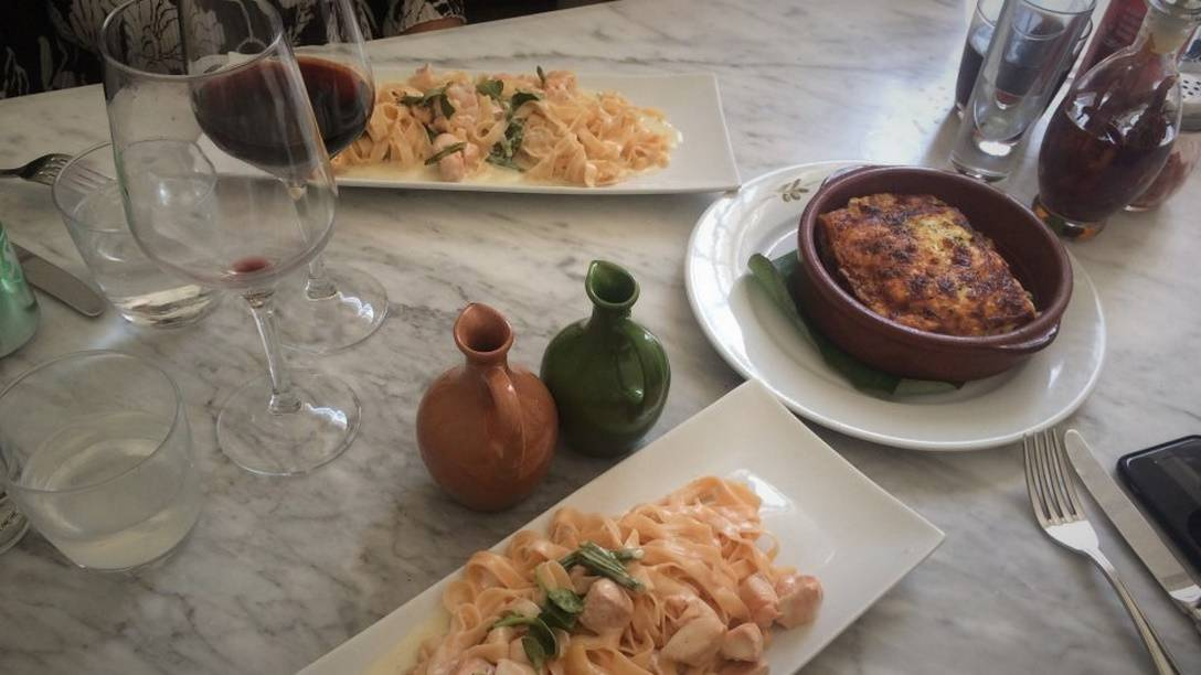 Tagliatelle al Salmone by Vicky N