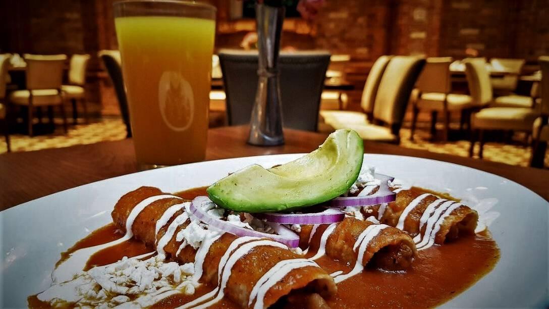 34 Saks Mexico City Enchiladas