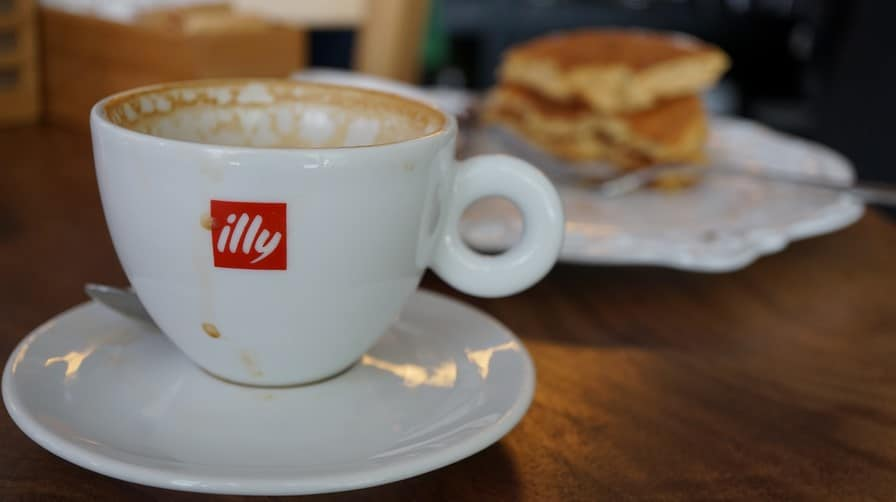 Pancakes at Cafe Toscano