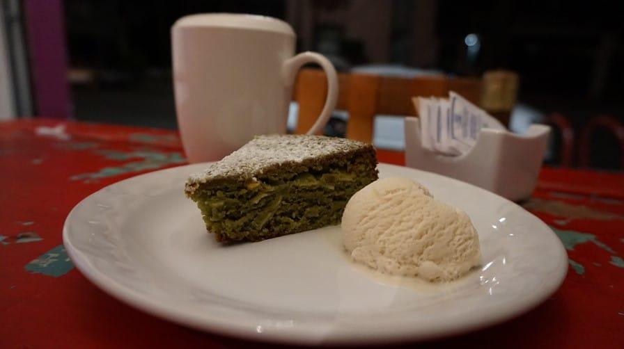 Green Tea Cake at Yume
