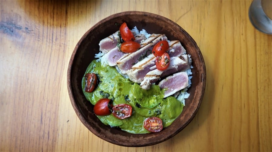 Grilled Tuna at Huset