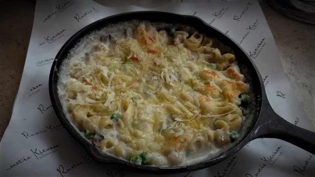 RUSTKIT Mac n Cheese with White Truffle Oil