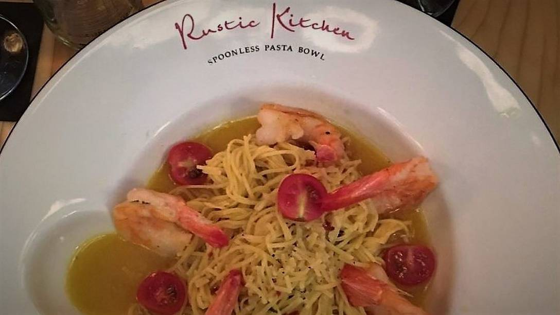 RUSTKIT Shrimp Spaghettini