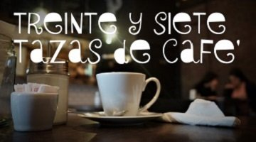 Thirty seven cups of coffee in Buenos Aires