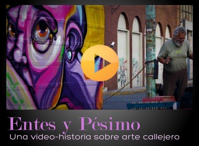 Entes y Pésimo - La casa de Enrique - pintado
